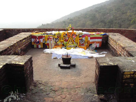 Gijjakuta where Lord Buddha  stayed